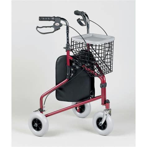tri wheel walker with seat three wheeled rollator walker tri walker mobility walking