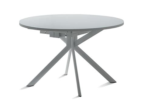 tavoli allungabili rotondi tavolo scavolini hover rotondi rotondi allungabili vetro