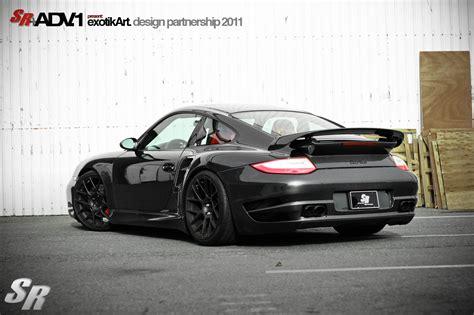 modified porsche 911 turbo sr auto and adv 1 join forces for porsche 911 turbo