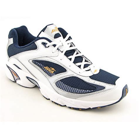 avia shoes avia a5020mwds mens sz 12 white navy grey running shoes