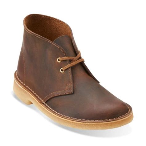 womens desert boot beeswax leather clarks womens shoes