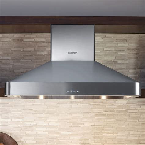 Dacor DHW482 48 Inch Wall Mount Chimney Range Hood with