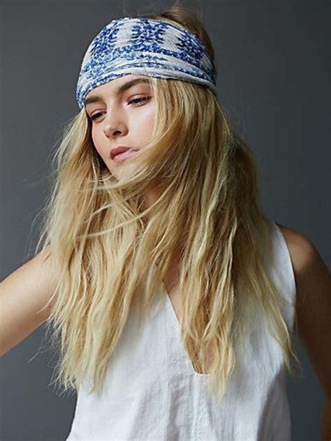 70s headband short hair hair accessory wide band headband gypsy hippie hippie