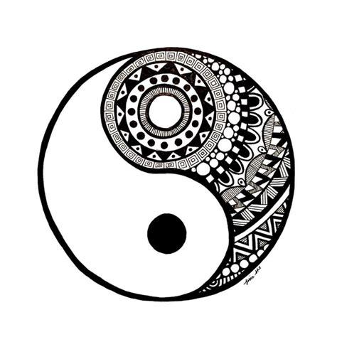 Ying Yang Drawing