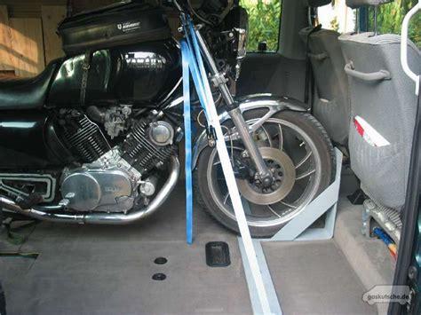 Motorradtransporter Für 4 Motorräder by Motorrad Im T4 Die L 246 Sung Von Dirk Gaskutsche De