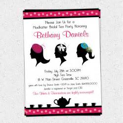 madhatter mad hatter tea invitations fascinator hats royalty bridal shower baby shower