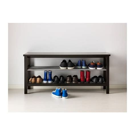 shoe storage bench ikea tjusig bench with shoe storage white