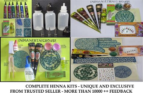henna kit for beginners and professionals best