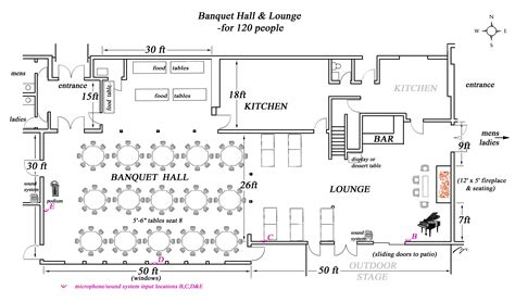 banquet hall floor plans hall design search and google on pinterest