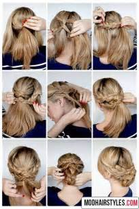 step to step hairstyles for medium hairs elegant hairstyle tutorials for medium hair length