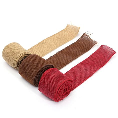 upholstery ribbon buy 3m jute fabric ribbon handwork diy home party wedding