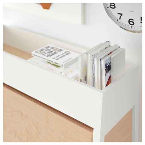 ikea bureau white ikea ps 2014 bureau white birch veneer 90x127 cm ikea