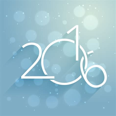 new year 2016 vector free creative new year 2016 card vector free