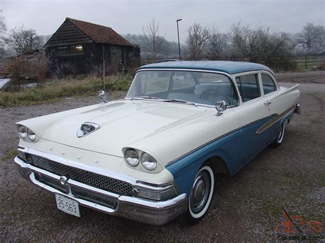 1958 ford custom 300 2 dr coupe all original low low