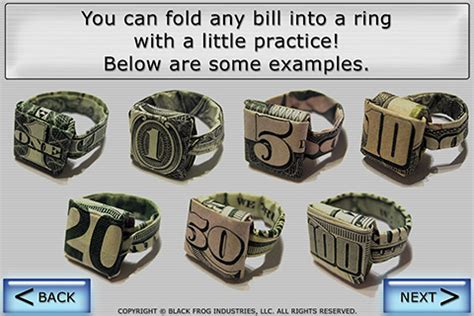 How To Fold A Paper Ring - black frog industries llc