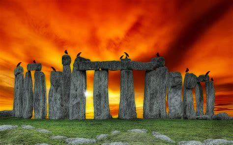 Built Landscape Definition Stonehenge Uk High Definition Photography Wallpaper 6