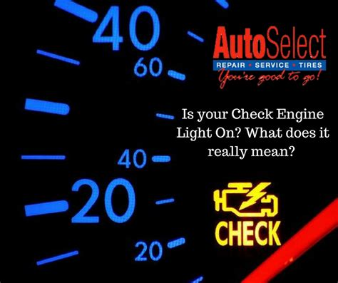 what does a blinking check engine light what does it when your check engine light is