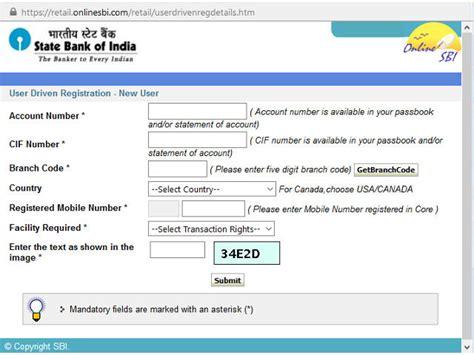 sbi bank banking registration sbi banking net banking services on www onlinesbi