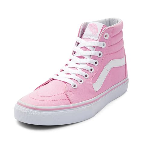 vans boat shoes on feet vans sk8 hi skate shoe