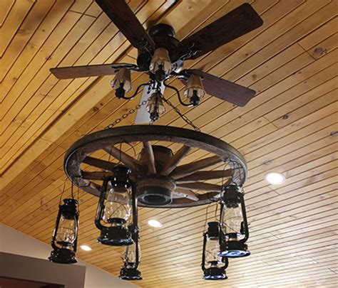 wagon wheel ceiling fan light wagon wheel ceiling fan the wagon