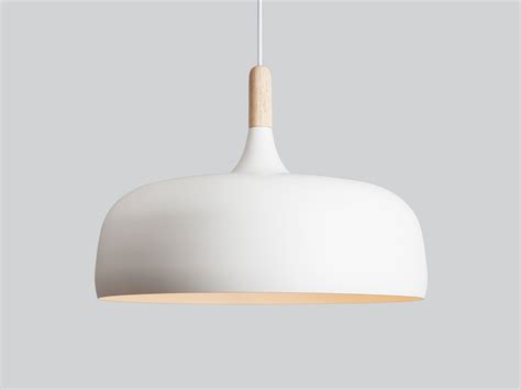 Buy The Northern Lighting Acorn Pendant Light White At Pendant Light White
