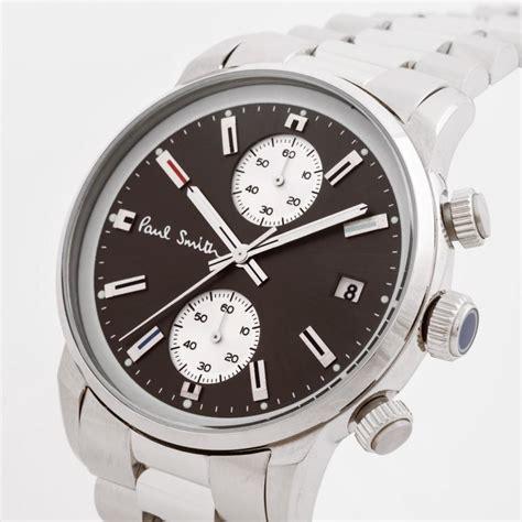 Silver Chrono Aktif 1 paul smith s grey and silver block chronograph