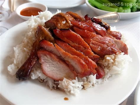 Simple Duck And Char Siu Rice by Mirama Restaurant 美麗華酒家 Sugared Spiced