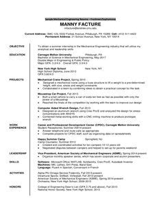 Mechanical Engineering Mba Marketing by Beautiful Resume Template Sle Template One Page Of A