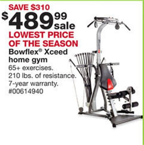 black friday deal bowflex xceed home 1000382