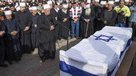har nof rabbi eulogizes druze cop who died stopping