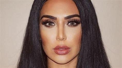 nuevas imagenes kim kardashian instagram huda kattan es la doble de kim kardashian que