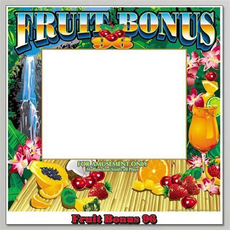 fruit 96 bonus american alpha