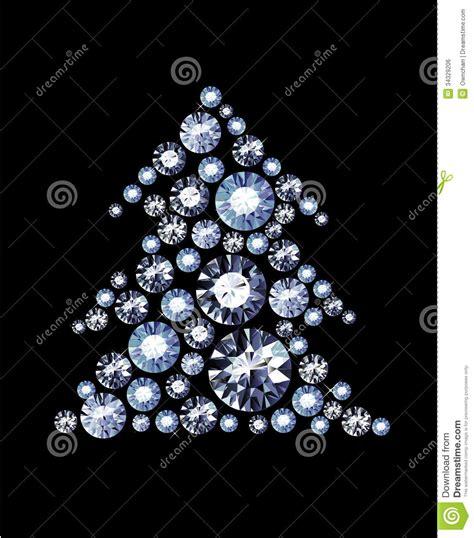diamond tree royalty free stock image image 34329206