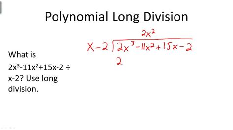 synthetic division of polynomials ck 12 foundation