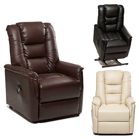 single leather recliner chairs the bradfield riser recliner chair in faux leather pu