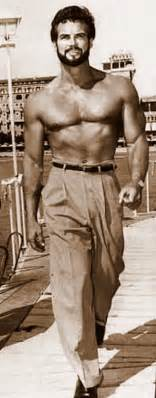 the television and stage of steve reeves books steve reeves with beard bodybuilder actor author 1950 s