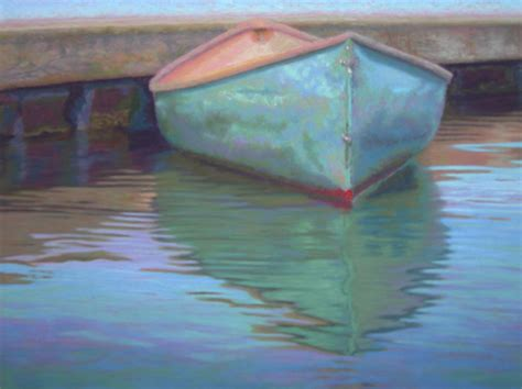 pastel painters of cape cod pastel painting cape cod canoe at wharf pastel painting