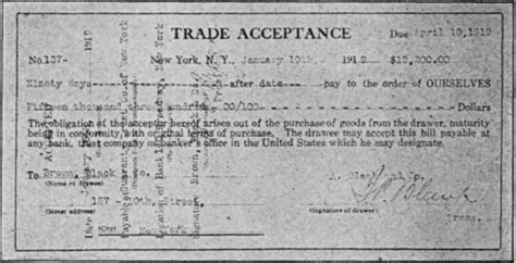 Letter Of Credit And Bankers Acceptance Used In Foreign Trade Part Iv Bank And Trade Acceptances Commercial Banking And Credits Forms Agreements Records Etc