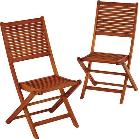 chaise de jardin bois lot de 2 chaises de jardin en bois eucalyptus trigano store