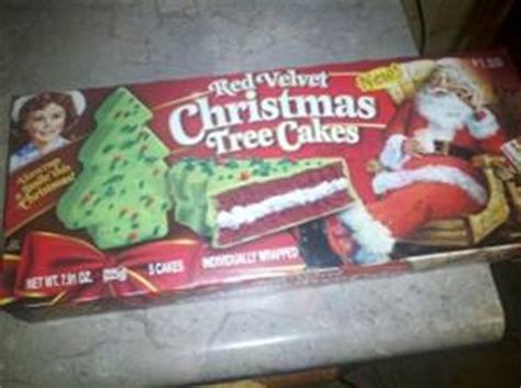 little debbie christmas tree cakes photo