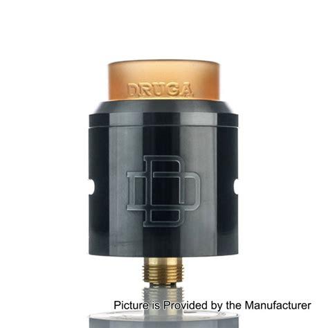 Authentic Rda Druga 24 26 99 authentic augvape druga rda gun metal 24mm rebuildable atomizer
