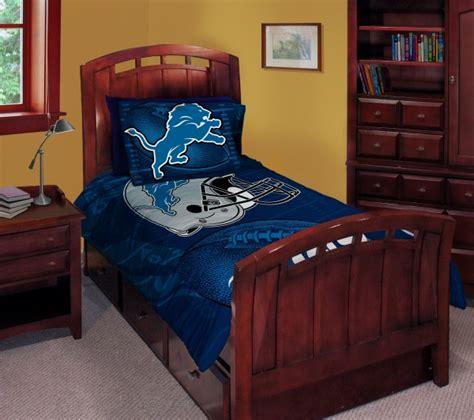 detroit lions bedding detroit lions nfl twin comforter set 63 quot x 86 quot