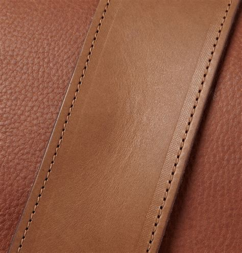 Grain Leather by Bill Amberg Grain Leather Messenger Bag S Bags