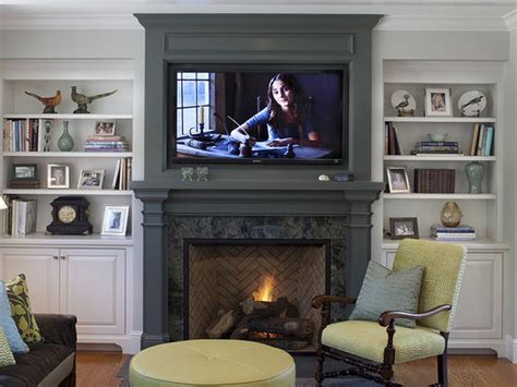 Fireplace Cabinet Ideas by Exciting Rock Paneling Fireplace Ideas Added White Built