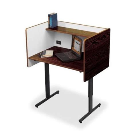 Desk Carrels by Balt Laminate Study Carrel Desk Walmart