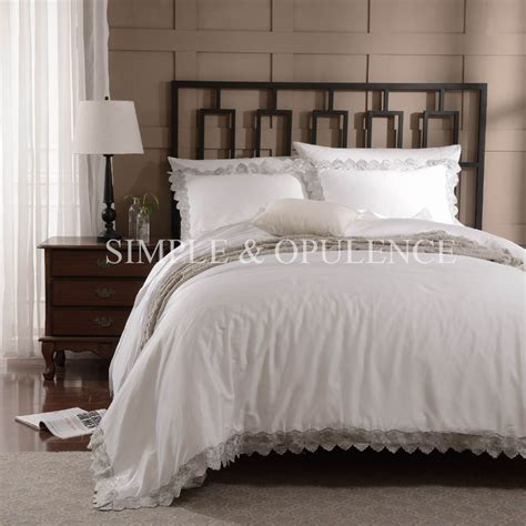 Off White Duvet Cover Queen 100 Cotton 400tc Luxury Duvet Cover Set Royal Embroidered