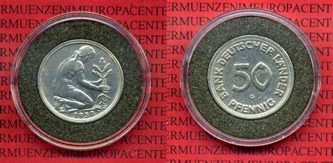 50 pfennig bank deutscher länder 1950 g 50 pfennig bank deutscher l 228 nder 1950 g 1950