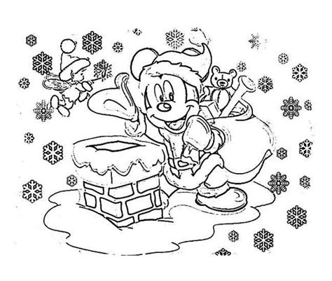 mickey mouse santa coloring pages mickey santa claus pages coloring pages