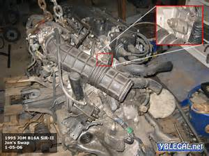 Iacv Honda Civic How To Locate And Clean Your Iacv Idle Air Valve