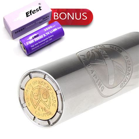 Efest Purple Imr 26650 Li Mn Battery 3500mah 3 7v 64a With Flat Top 26650v1 el gigante 26650 mechanical mod bonus efest imr 26650 li mn battery 3500mah 3 7v 64a with flat